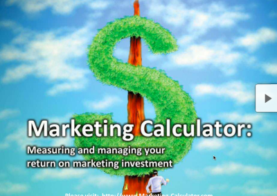 Managing Your Marketing ROI