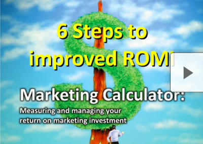 6 Steps To Improved ROMI