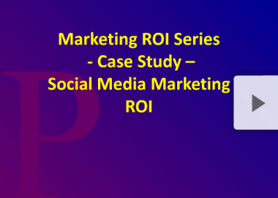 Brand ROI Series Social Marketing ROI Case Study Part 1