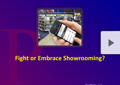 Fight or embrace showrooming
