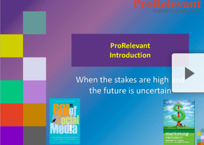Introduction to ProRelevant