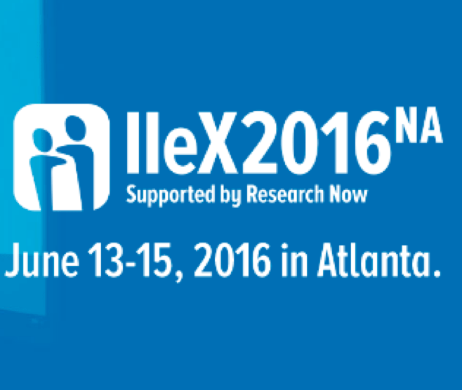 Last week at IIeX 2016 in Atlanta